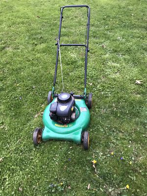 """Weed Eater (21"""") 158cc 2-n-1 Push Lawn Mower for Sale in Fairfax, VA"""