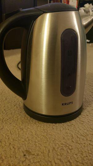 Krups electric kettle for Sale in Arlington, VA