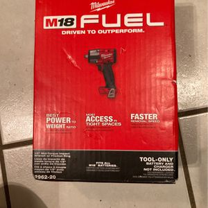 Milwaukee 1/2 Impact M18 FUEL for Sale in Nashville, TN