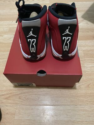 Jordan 14 toro gym red size 9 DS from snkrs for Sale in Chicago, IL