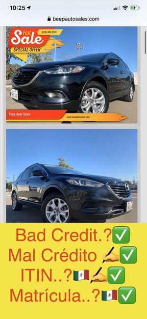 2014 Mazda CX-9 ITIN ✅ matrícula ✅ for Sale in National City, CA