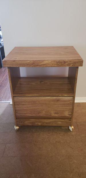 Solid Wood Microwave Cart for Sale in Cincinnati, OH