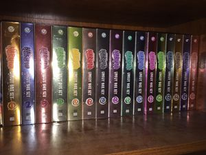 Naruto, naruto shippuden, movies dvd box sets complete collection! for Sale in Houston, TX