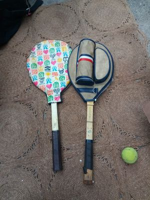 Vintage tennis rackets with cases for Sale in Milwaukie, OR