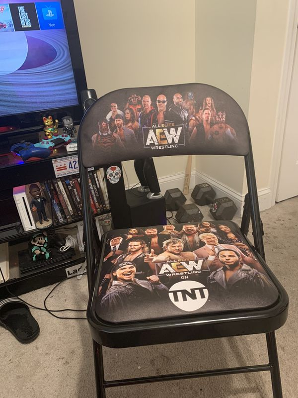 AEW first televised TNT show Front row chair