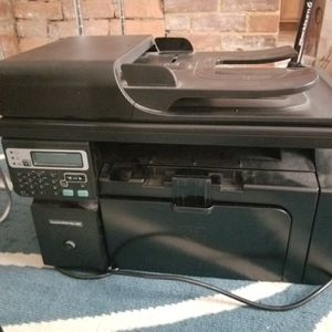 Used HP LaserJet pro CE844A m1217nfw printer and scanner for Sale in Pittsburgh, PA