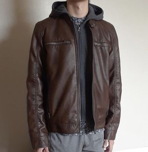 Guess Leather Jacket | Medium Size for Sale in Los Angeles, CA