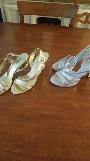 Gold & Silver Dress high heels for Sale in Seattle, WA