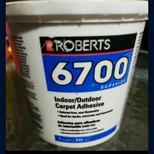 NEW- ROBERTS 6700 1 Qt. Carpet Adhesive for Sale in Tacoma, WA