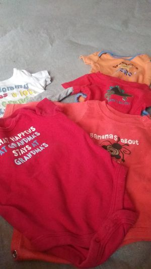 Gma and gpa onesies for Sale in Roseville, MI