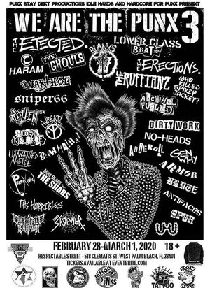 we are the punx tickets for Sale in Pompano Beach, FL