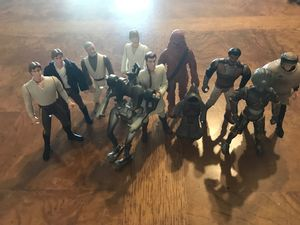 Vintage Collectable Star Wars Figures toys for Sale in Las Vegas, NV