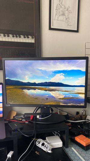 """Sceptre 22"""" ultra thin 1080p LED monitor for Sale in Sacramento, CA"""