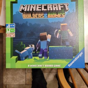 Minecraft Builders & Biomes Board Game for Sale in Huntington Beach, CA
