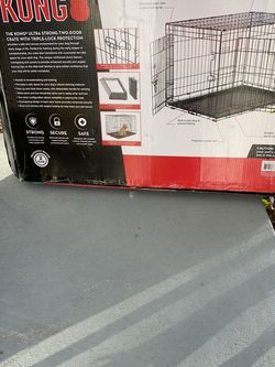 Ultra Strong Large two Door Crate ,43.3 L x29W X30H Revised 2/23/21 for Sale in Hollywood,  FL