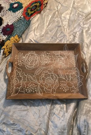 Beautiful Never Used Tray for Coffee Table for Sale in Washington, DC