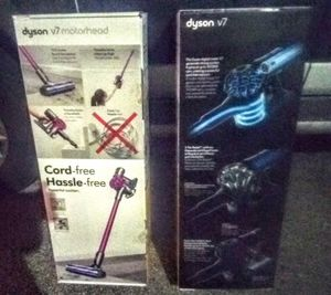 Dyson v7 Motorhead Cordless vacuum * BRAND NEW * $175.00 for Sale in Hollywood, FL