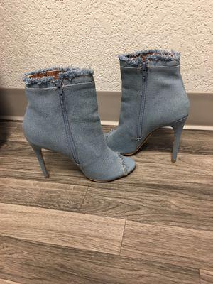 Denim heels for Sale in Tacoma, WA