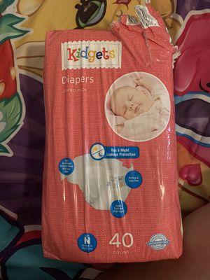 Open diaper bag size newborn for Sale in Miami, FL
