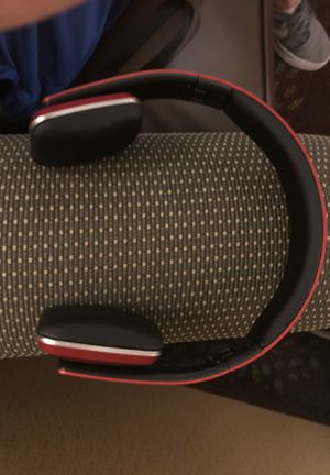 Rlx-100 Bluetooth headphones -Red for Sale in Sterling Heights, MI