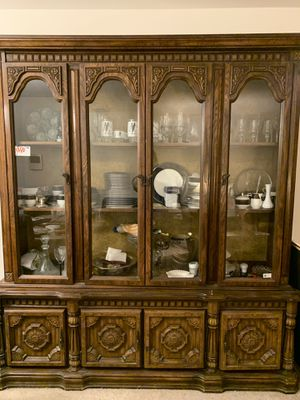 Antique china closet for Sale in Willow Grove, PA