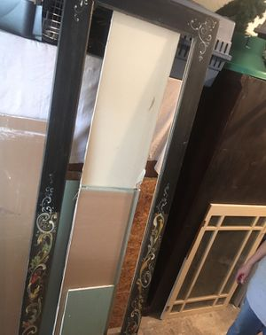 Mirror frame antique solid for Sale in Pompano Beach, FL