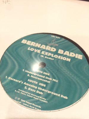 "Bernard Badie - Love Explosion - 12"" Vinyl for Sale in Chicago, IL"