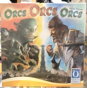 Orcs Orcs Orcs Board Game BRAND NEW for Sale in Brentwood, MD