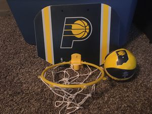 Basketball hoop and ball for Sale in Morristown, IN