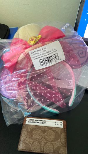 Minnie Mouse: The Main Attraction Ear Headband (Max Tea Party) for Sale in San Jose, CA