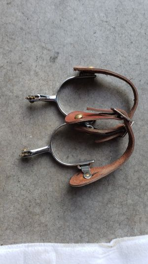 Ladies western spurs with straps for Sale in Sammamish, WA