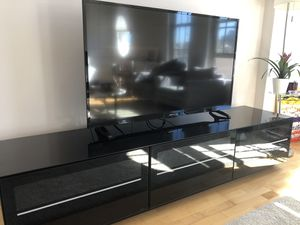 Sleek TV stand good condition for Sale in Washington, DC