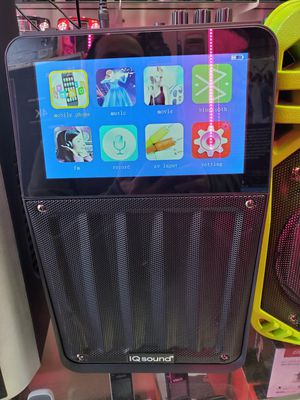 """BRAND NEW SEALED BOX. 8"""" SCREEN KARAOKE SINGING MACHINE WITH BLUETOOTH AND USB for Sale in Los Angeles, CA"""