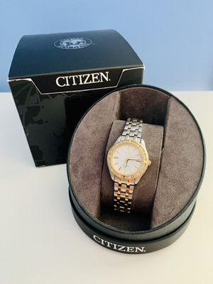 Women's Citizen Eco-Drive Diamond Bezel Watch for Sale in Franconia, VA
