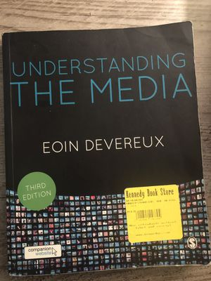 Understanding the Media (Eoin Deveroux) Third Edition for Sale in Knoxville, TN