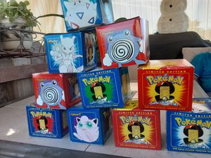 For sale pokeballs edition limited 23k gold plated trading cards w authentic proof for Sale in Huntington Beach, CA