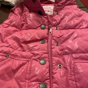 Brand NEW VEST $15 Size XS 4 Girls Detachable Hood Super Warm N Soft material Inside for Sale in Chatsworth, CA