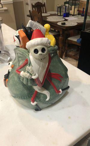 Disney nightmare before Christmas sAnta jack skellingtom cookie jar for Sale in Clovis, CA