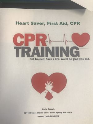 CPR Certification for Sale in Silver Spring, MD