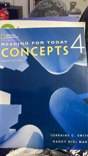 Reading for today Concepts 4 ( English book ) for Sale in Miami, FL