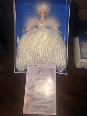 """1994 Enchanted Seasons Barbie """"Snow Princess"""" for Sale in Westminster, CO"""