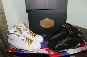 Jordan 6s and 7s deadstock size 9 new 2012 realease 100% real for Sale in Pittsburgh, PA