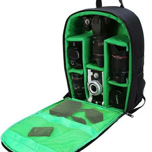 Camera Bag Backpack with Rain Cover / Tripod Belt for DSLR SLR Cameras (Nikon, Canon, Sony, Fuji, Panasonic etc) Lenses, Tripod and Accessories for Sale in Claremont, CA