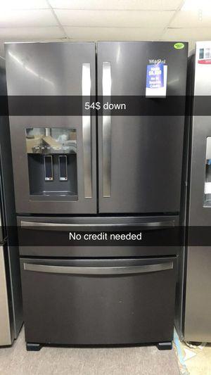 Brand new 4 door whirlpool refrigerator for Sale in Houston, TX