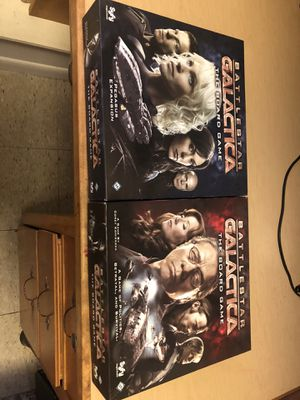Battlestar Galactica w/ Pegasus expansion for Sale in Purcellville, VA