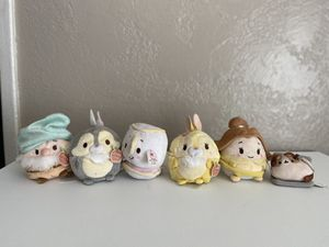 Beauty & the Beast Ufufy Scented Plushie Collection + FREE Pusheen Keychain for Sale in San Bernardino, CA