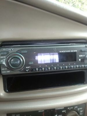 FM/AM CD player 40wx4 for Sale in Oakland, CA