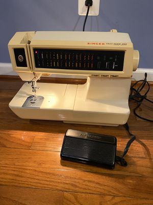Sewing machine(Premium quality and brand, multi stitching . Flawless condition) for Sale in Ellicott City, MD