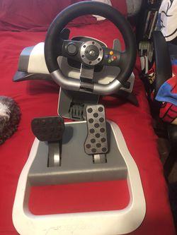 Xbox 360 Steering Wheel for Sale in Houston, TX