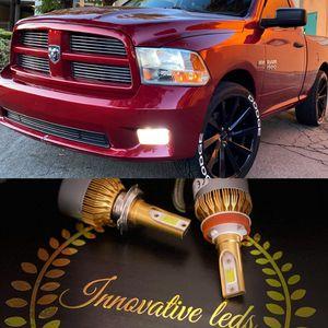 Car led headlights kit leds kits are super bright lights H1 H7 H8 H9 H10 H11 9003 9005 9006 9007 H13 880 9145 9140 5202 for Sale in Loma Linda, CA